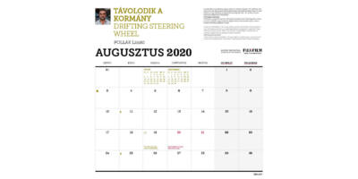 Biciklis naptár hónapok