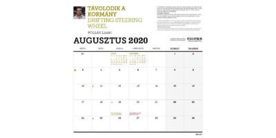 Biciklis naptár belső