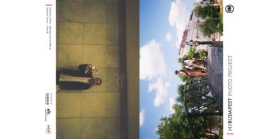 bringás jegyzetfüzet Budapest fotóival