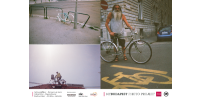 bicajos jegyzetfüzet budapesti fotókkal