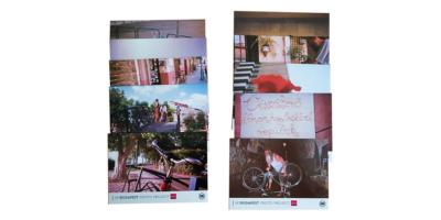 Biciklis képeslap csomag