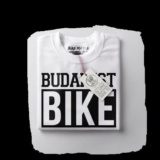 BBM - Budapest Bike Maffia - Fehér rövid ujjú férfi póló