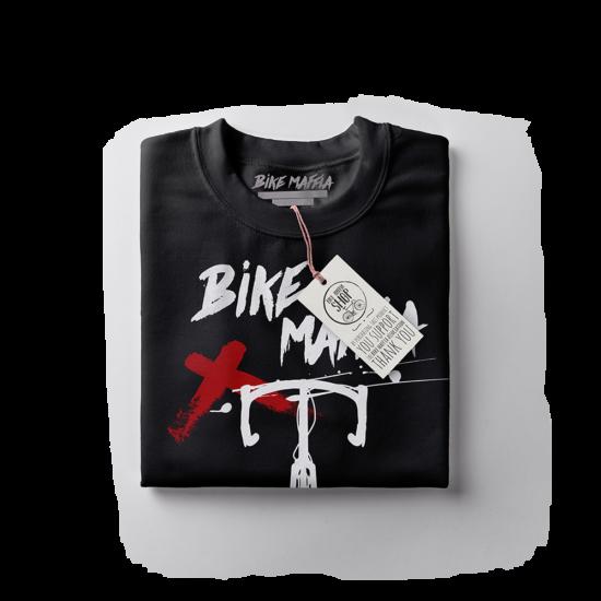 BBM - Ink splash - Fekete rövid ujjú férfi póló