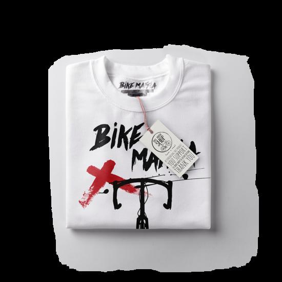 BBM - Ink splash - Fehér rövid ujjú női póló