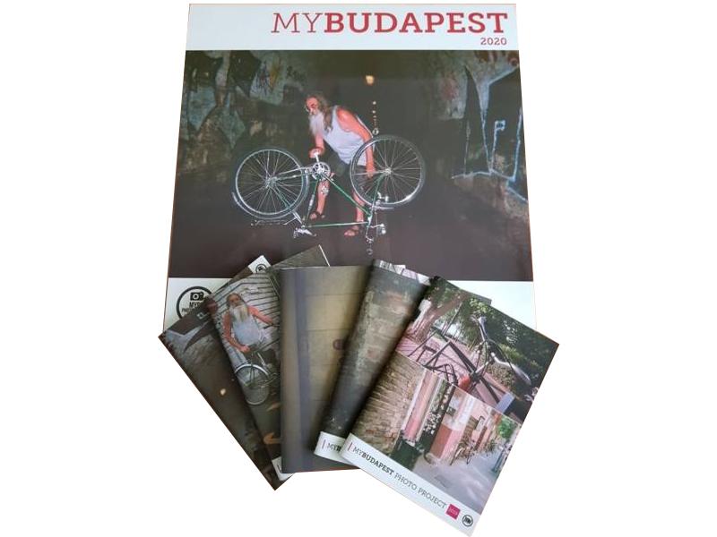 MyBudapest naptár 2020 + 5 db jegyzetfüzet