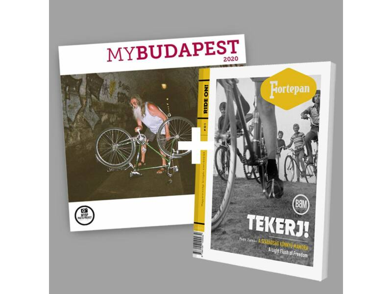 MyBudapest naptár + Fortepan Tekerj! - biciklis könyv