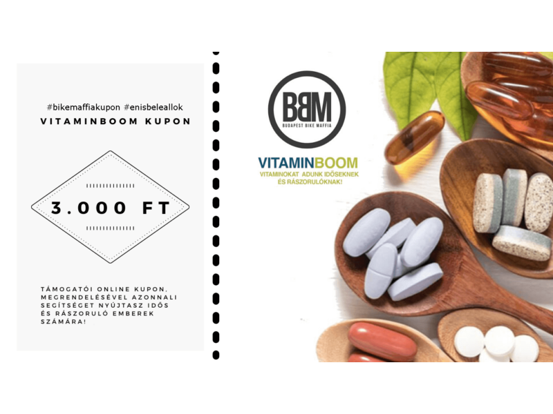 VITAMINBOOM Kupon - 3000