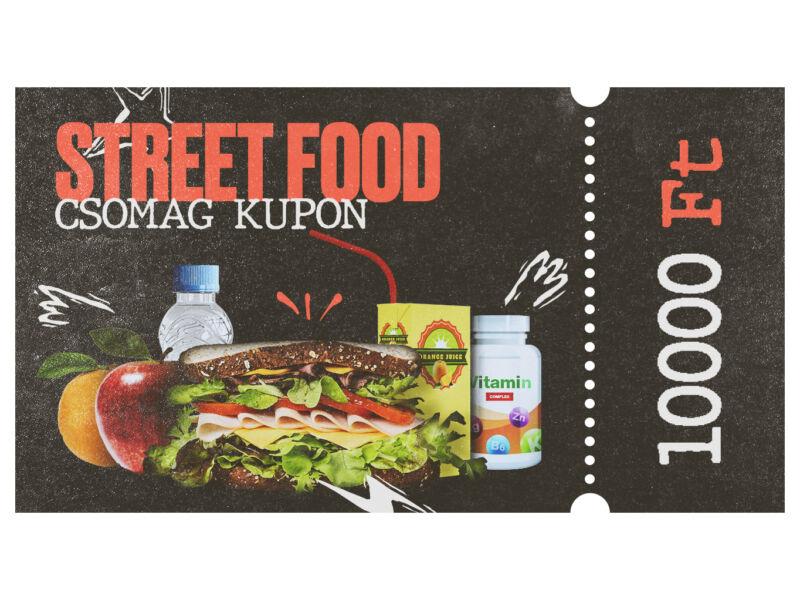 Street Food csomag kupon