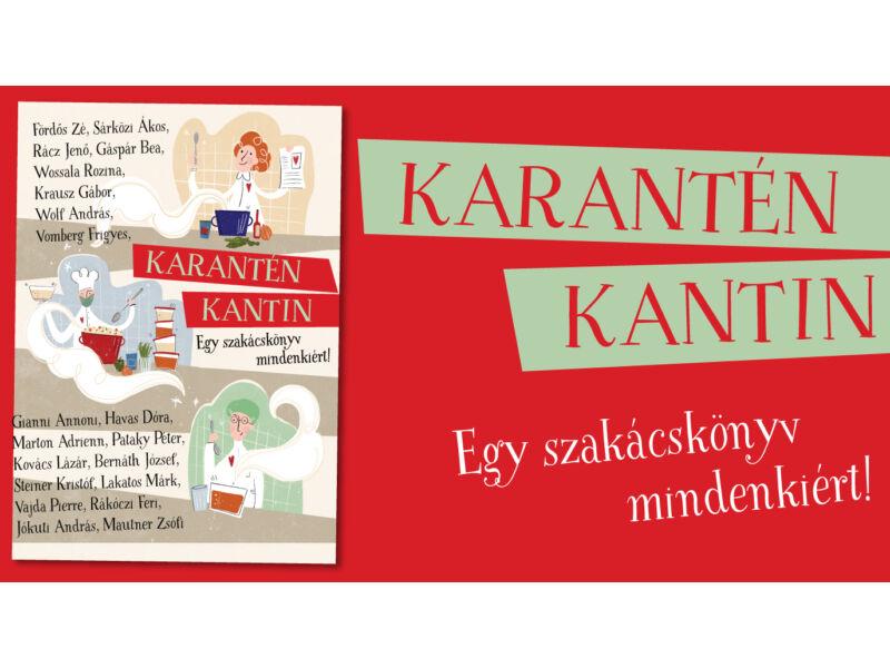 Karantén Kantin szakácskönyv